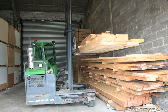 Large Section Building Timber Stack 9441