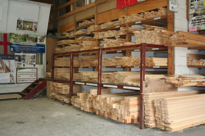 Planed Timber Racks