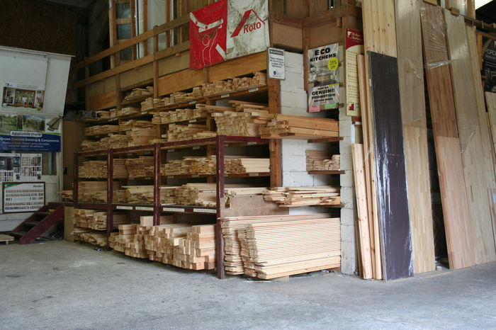 Planed Timber rack 9431