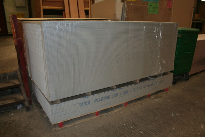 Plasterboard Delivery - Square Edge Wallboard; IMG 3793