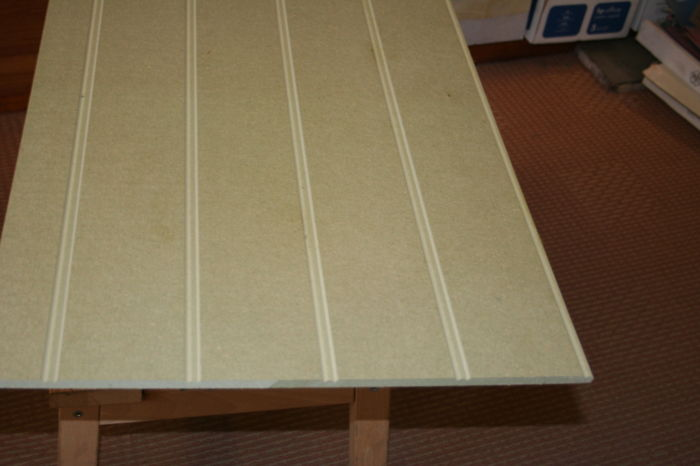 Reed and Bead length-profiled 9mm MDF Board; Image 6576.0