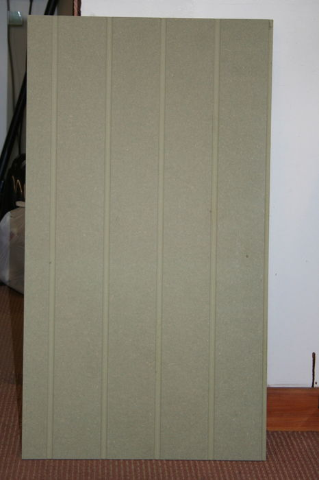 9mm Reed and Bead 10x4 MR MDF Panel; Image 6576.1