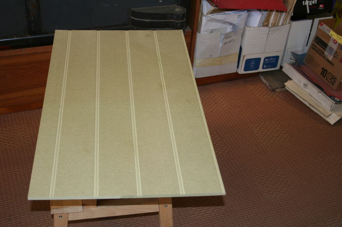 10x4 Sheet Reed and Bead - 9mm MDF; Image 6576.2