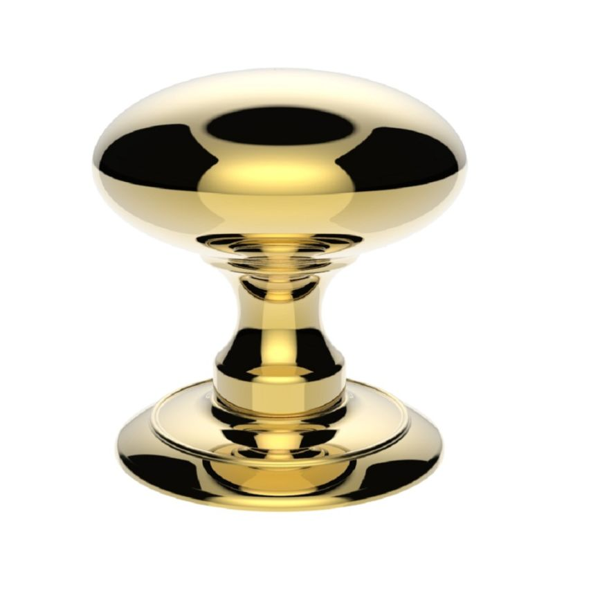 Ice Large Mortice Door Knob - AC050PB Polished Brass