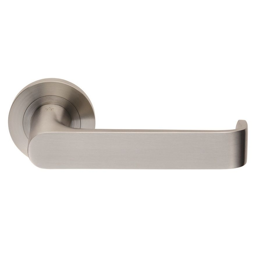 Steelworx Zurigo Lever on Rose - SWL1133SSS Satin Stainless Steel