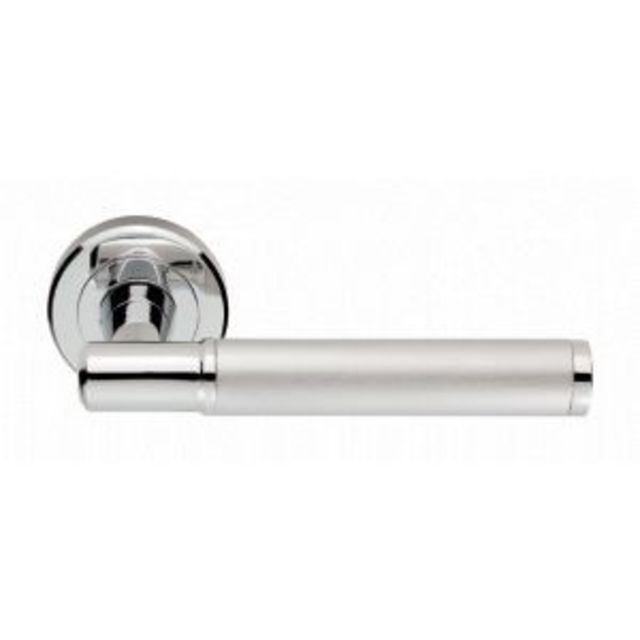 SZM250 Serozzetta Image Lever Door Handle on 50mm Rose
