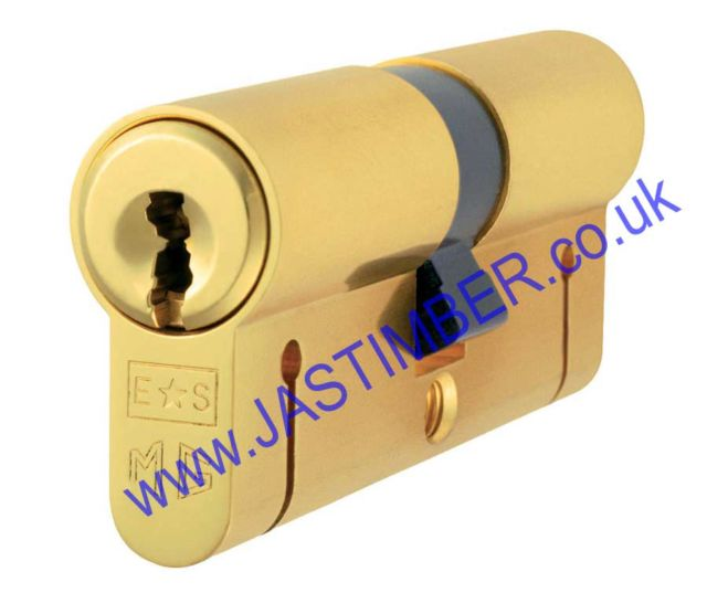 EURO Profile Masterkey Double Cylinder 70mm CYA77270SC SATIN CHROME E*S