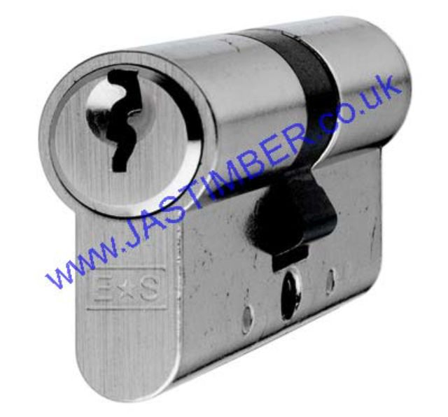 EURO Profile Keyed-Alike 5-pin Double Cylinder 70mm CYA747270SCKA11 SATIN CHROME E*S