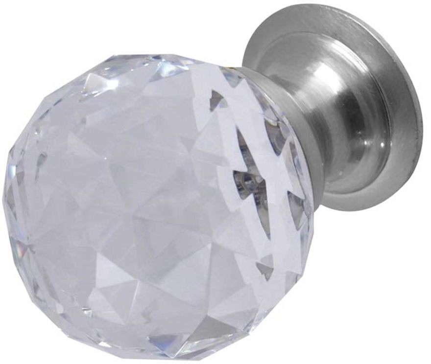 Frelan Facetted Glass Cabinet Knob - JH1155-30SC