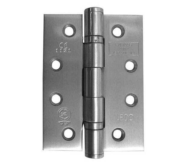 Ball-Bearing Hinge 102x76x3mm – Frelan Hinge J9500 SSS Satin