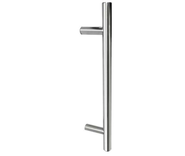 Frelan® Guardsman 19mm Pull Handle - Bolt Through Fix - Satin-Stainless Steel JSS219 SSS
