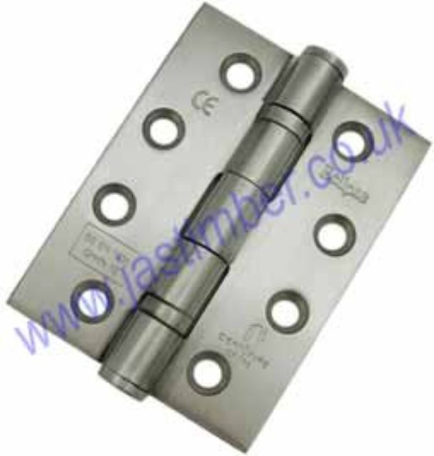 Hinge 76x51x2mm Satin Stainless Steel SSS - Eclipse Frisco 14852