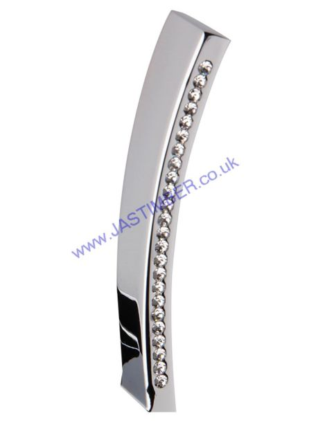Intelligent Azore Polished-Chrome / Swarovski Crystals Pull Handles : ORO.AZORE.PULL