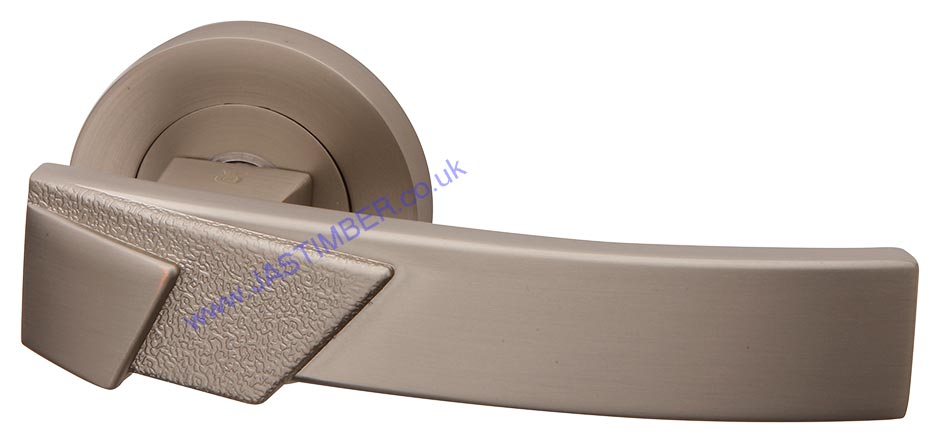 Linea Pearl Nickel Door Handles - Intelligent  Door Handles