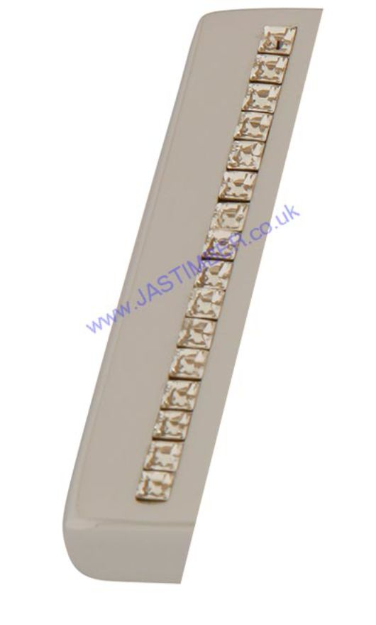 Intelligent ZIRCON Polished-Chrome / Swarovski Crystals Pull Handles : ORO.ZIRCON.PULL