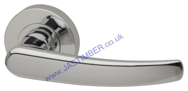 Intelligent Alpine Polished-Chrome Finish Door Handles : ALP.09.PCP