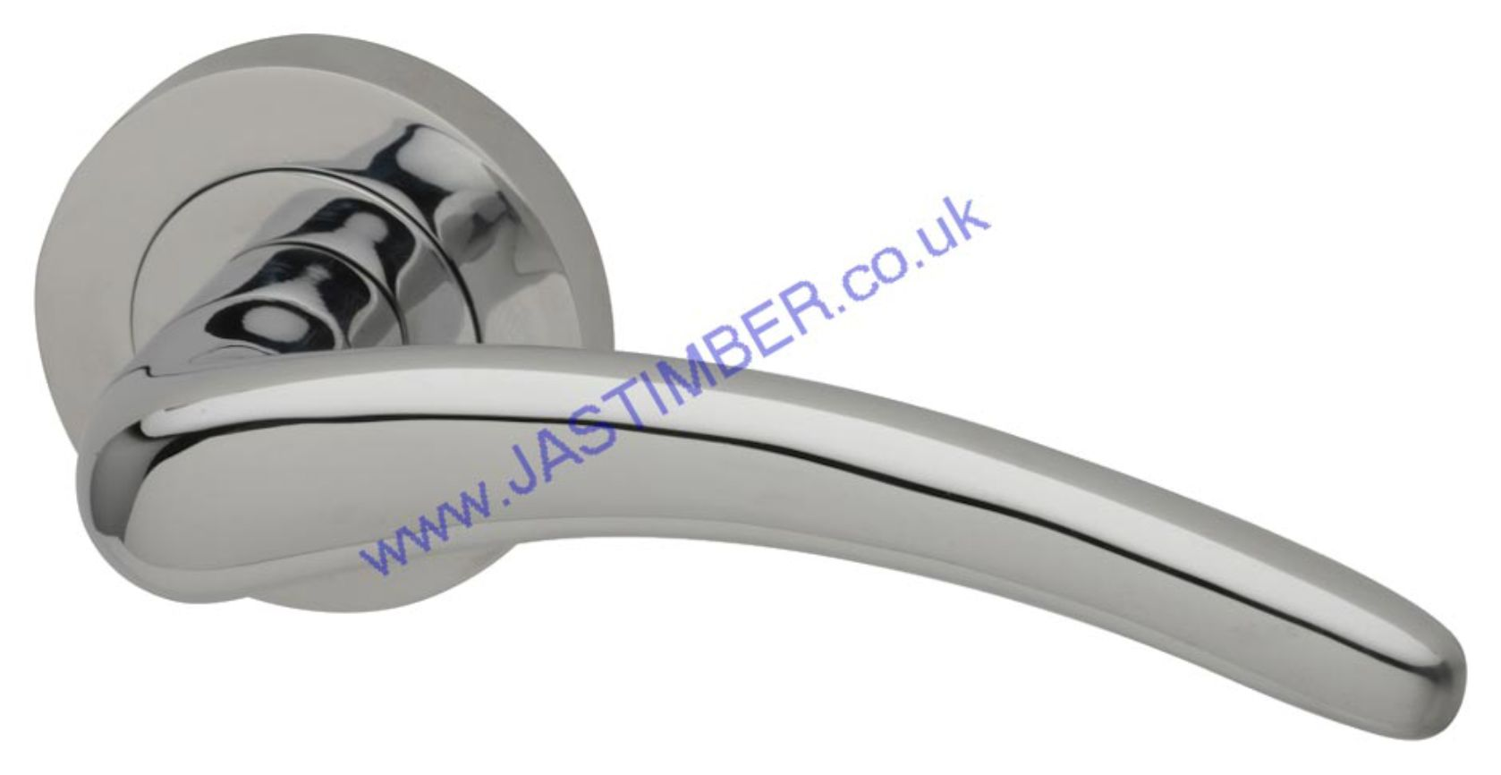 Dune Chrome Door Handles - Intelligent Door Handles