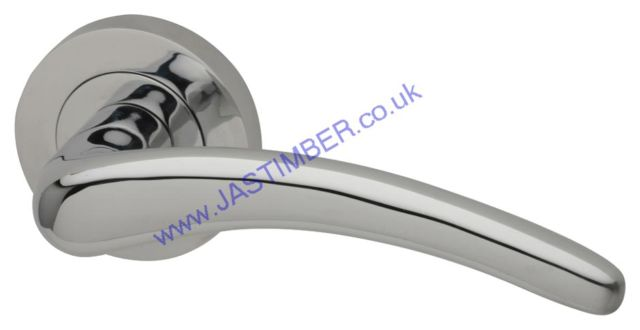 Intelligent Dune Polished-Chrome Finish Door Handles : DUN.09.PCP