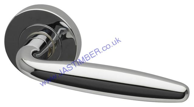 Intelligent Galaxy Polished-Chrome Finish Door Handles : GAL.09.PCP