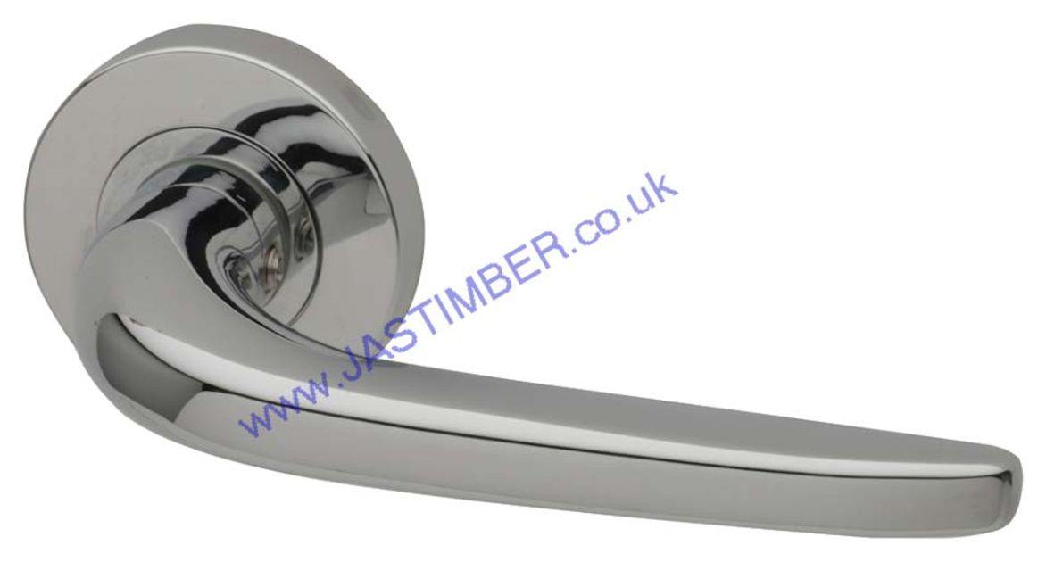 Intelligent OLYMPUS Polished-Chrome Finish Door Handles : OLY.09.PCP