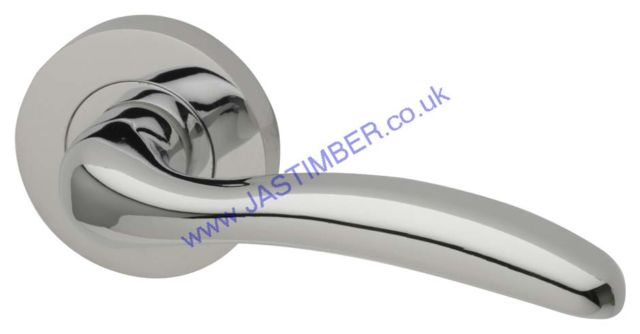 Intelligent Scorpio Polished-Chrome Finish Door Handles : SCO.09.PCP