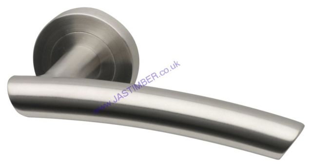 Intelligent EVEREST Satin Stainless Steel Door Handles : EVE.09.SSS