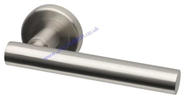 Intelligent NEVIS Satin Stainless Steel Door Handles : NEV.09.SSS