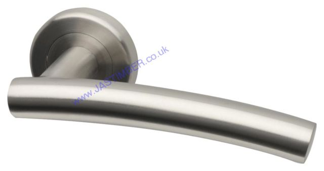 Intelligent SCAFELL Satin Stainless Steel Door Handles : SCA.09.SSS