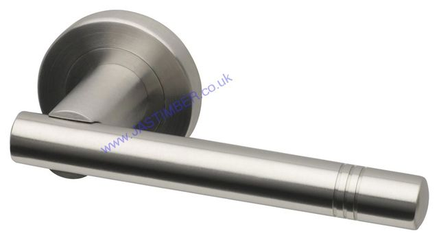 Intelligent SNOWDEN Satin Stainless Steel Door Handles : SNO.09.SSS