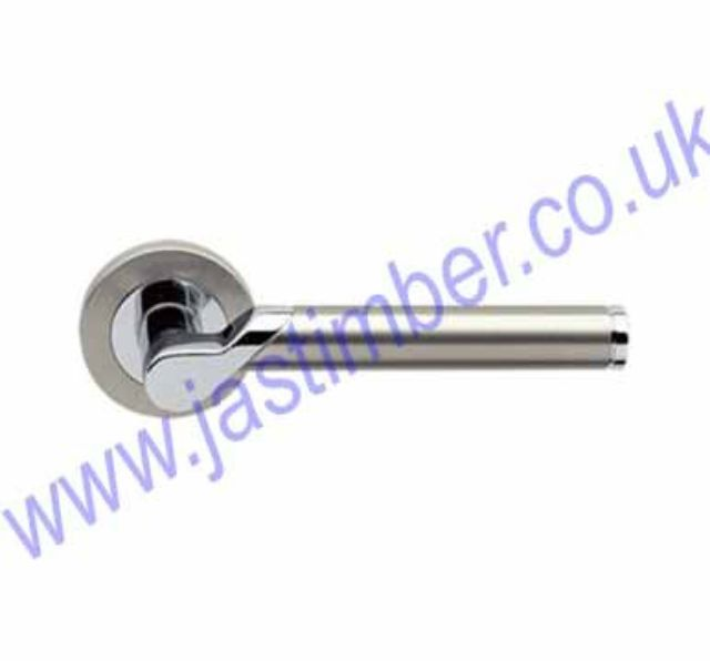 Starlight Lever Door Handle CP/SN  Frisco 31752