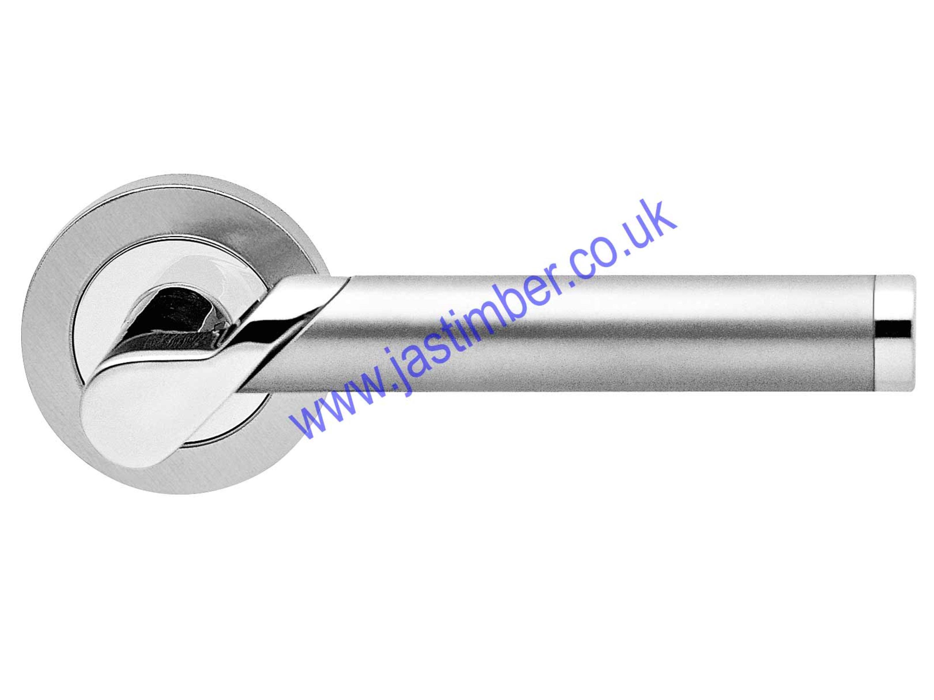 karcher r38 starlight lever door handle cp sss. Black Bedroom Furniture Sets. Home Design Ideas