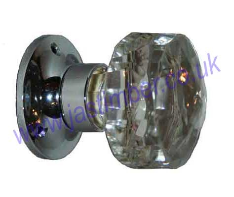 Glass Door Knob Handles - B3290