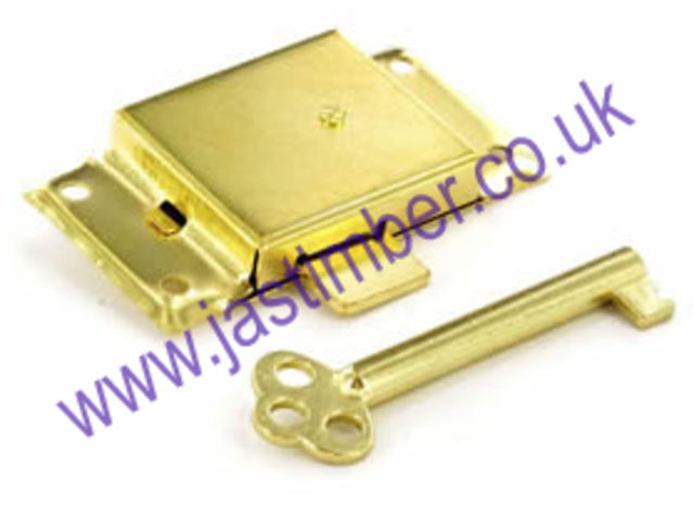 "Cupboard Lock 2-1/2"" + 1 key B1672 EB"
