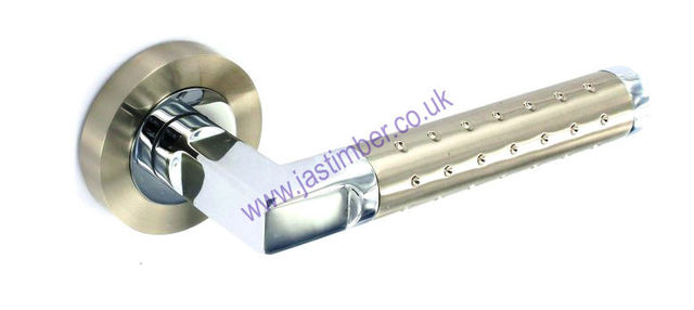 Securit Dual Finish Door Handles