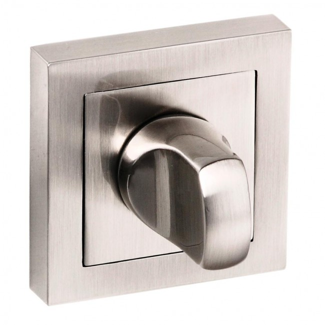 Atlantic Senza Pari Satin Nickel Square Thumbturn - SPC-WC-SN