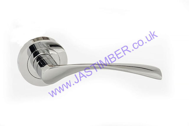 Atlantic AQUA Polished Chrome Door Handles : ECO20PC