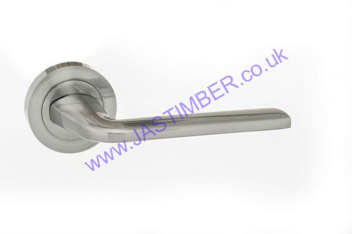 Atlantic Eco Surf Satin Chrome Door Handles - ECO60SC