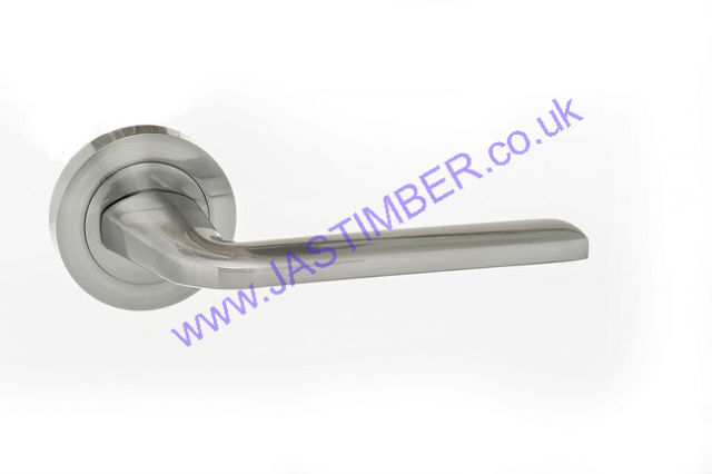 Atlantic SURF Satin Chrome Door Handles : ECO60SC