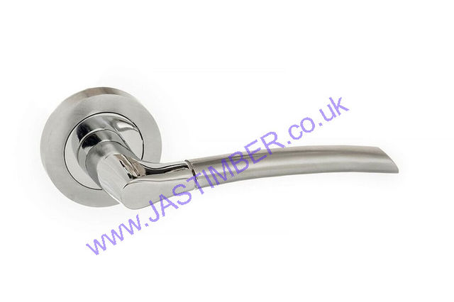 Atlantic SWELL Dual Finish Door Handles : ECO10SCPC