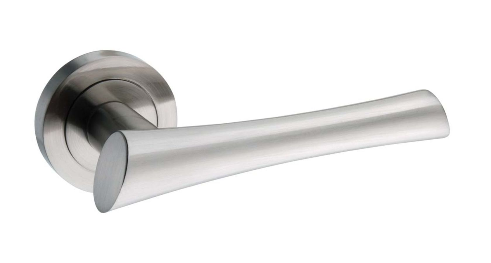 Atlantic Corsica Satin Nickel Door Handles : M-60 SN