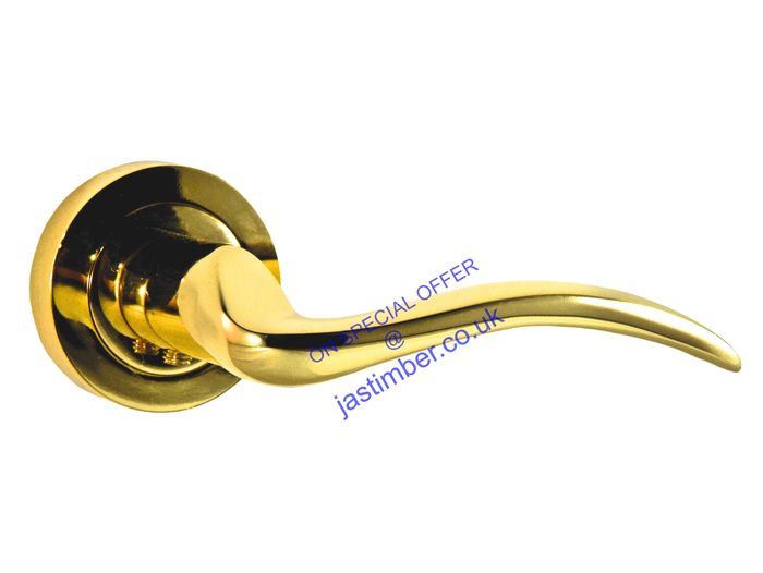 Atlantic VALENCIA Brass Lever Door Handles - M-85 BP