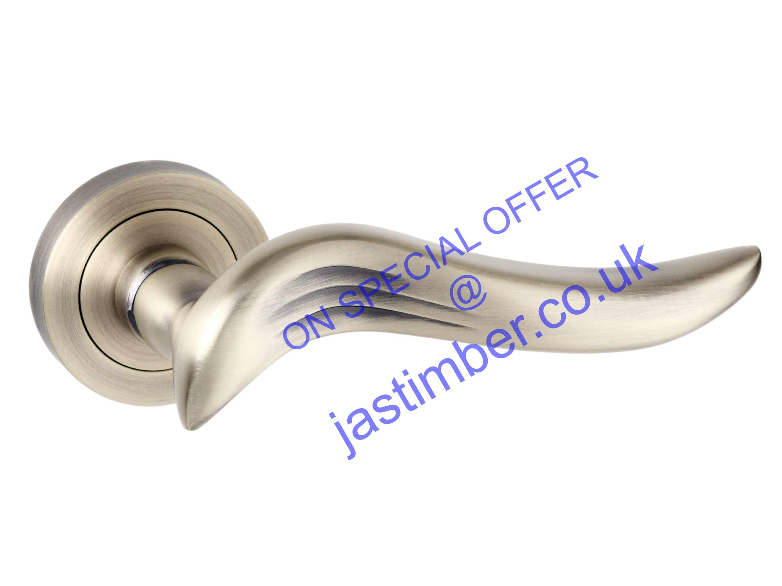 Old English Oxford Door Handles : Atlantic OE-144-MAB Matt Antique Brass