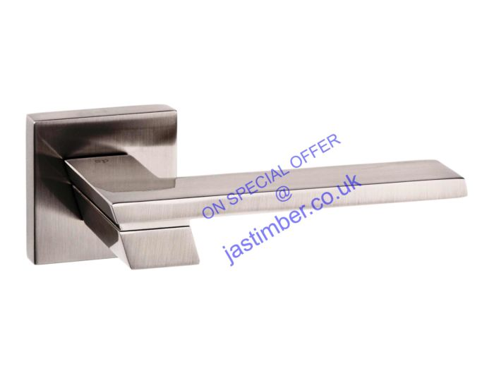 Senza Pari GIOVANNI Door Handle - SP203-SN