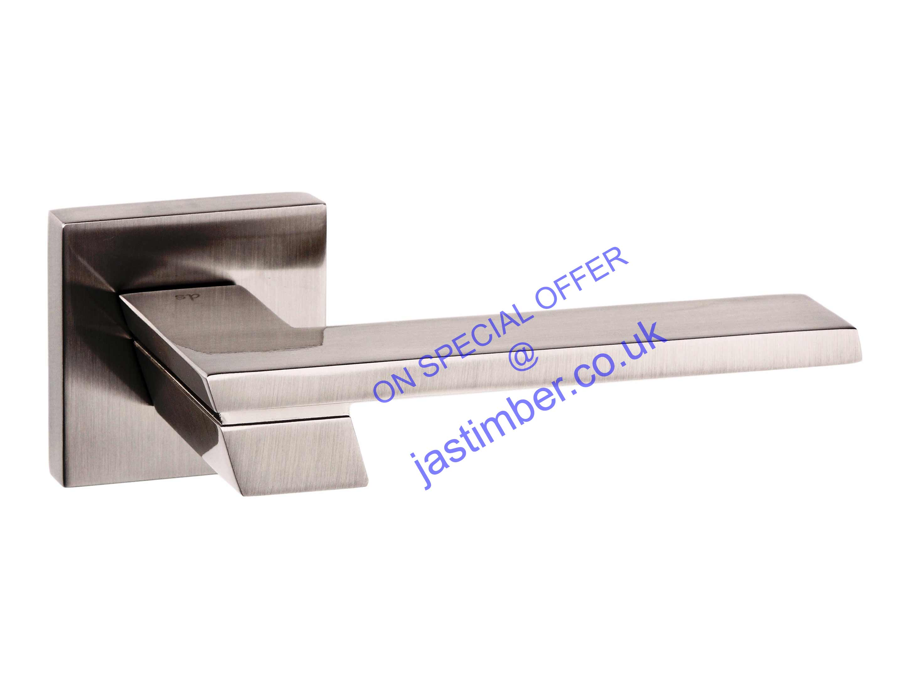 Atlantic Senza Pari - Satin-Nickel GIOVANNI Door Handles - SP-203-SN