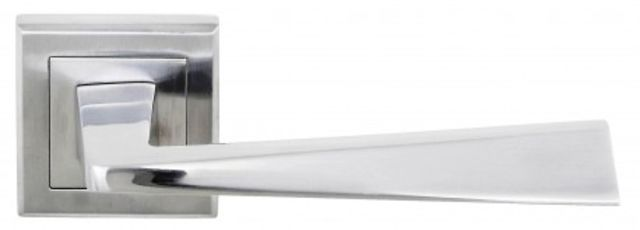 Status California Door Handles : Square Rose S23-S-SC Satin Chrome