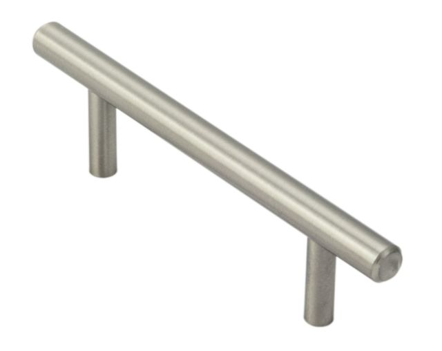 FTD444-SN MINI T-BAR HANDLE 8mm dia.  Satin Nickel