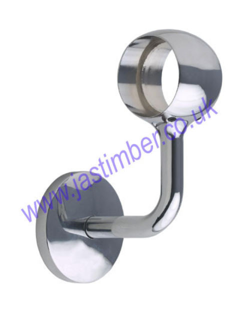 Rothley Handrail CONNECTING WALL BRACKET R975J Metal 40mm diameter Handrail Fitting - Rothley