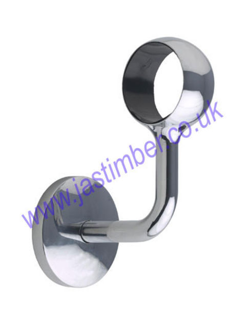 Rothley Handrail WALL BRACKET Metal 40mm diameter Handrail Fitting R970J