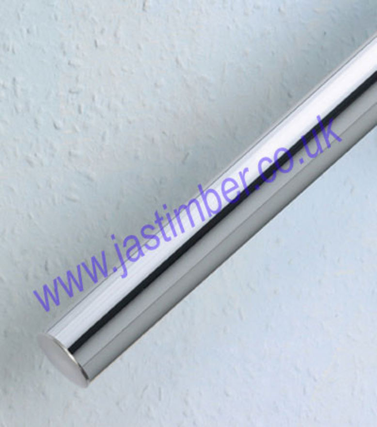 Rothley Handrail Tube Polished-Chrome AJC