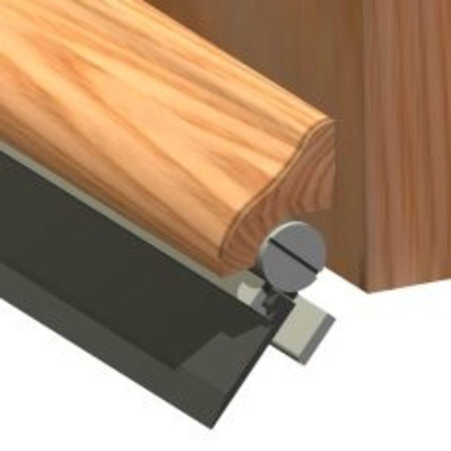 Stormguard Brydale-X / Wood Door Drip  sc 1 st  JAS Timber & Brydale-X Oak Rain Deflector